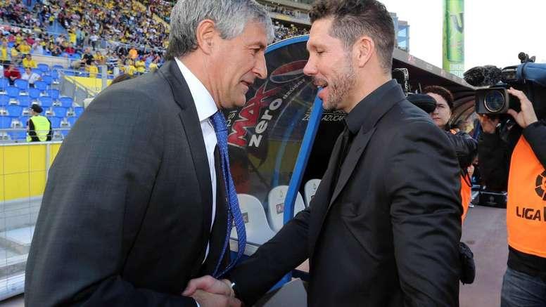 El nuevo técnico del Barça ha tenido varios encontronazos. EFE