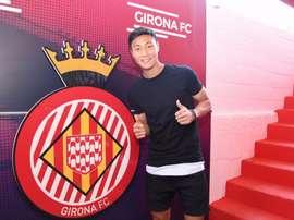 De Barcelona a Girona. Twitter/GironaFC