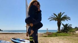 Shakira y Piqué disfrutan de sus vacaciones. Twitter/Shakira