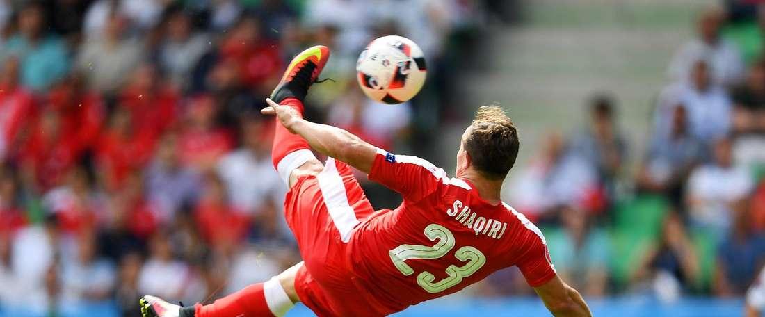 Shaqiri made it into the top 10. UEFA