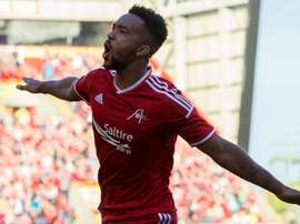 Shay Logan signs new contract with Aberdeen until 2018. AberdeenFC
