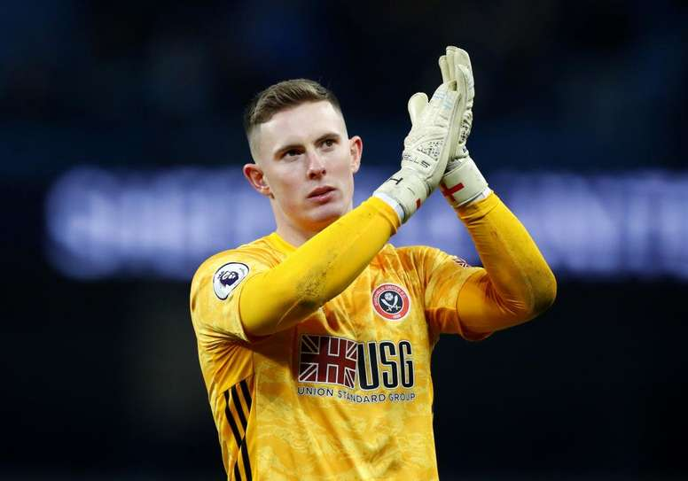 Henderson es un fijo en el Sheffield United. EFE