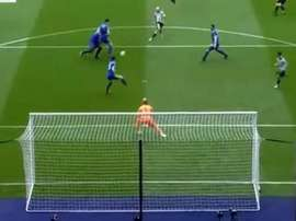 Shelvey opened the scoring against Leicester. Captura