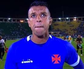 Recibió tres goles y le dieron el MVP del partido para trolearle. Captura/Globoesporte