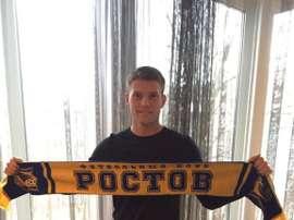 Le Rostov renforce ses troupes avec Sigurdarson. Twitter/RostovFC