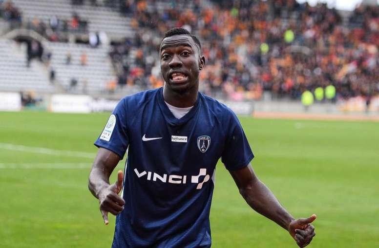 Wamangituka deslumbra en la Ligue 2. AFP