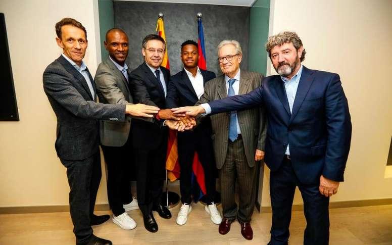 Ansu Fati rinnova: clausola da 170 milioni. FCBarcelona