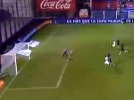 Silvio Romero anotó el único tanto ante Tigre. Captura