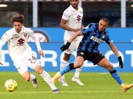 Le formazioni ufficiali di Inter-Bologna. EFE