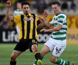 The Celtic player is keen to assert his place in the Scotland midfield.TWITTER/CELTICFC