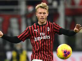 Le Milan va executer l'option d'achat de Kjaer. AFP