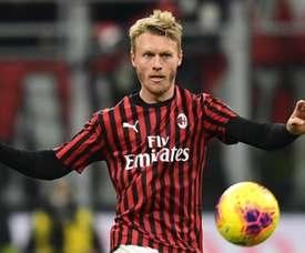 Kjaer resterà al Milan. AFP