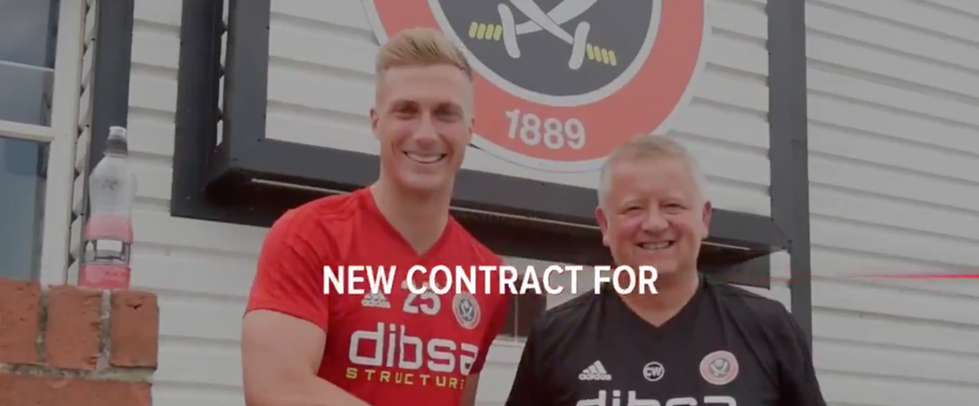 Goalkeeper Simon Moore will stay at Bramall Lane. SUFC_tweets