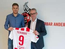 Terodde a rejoint Cologne. FCKöln
