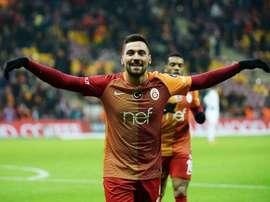 O extremo de 23 anos entende que é o momento de sair do Galatasaray. Twitter