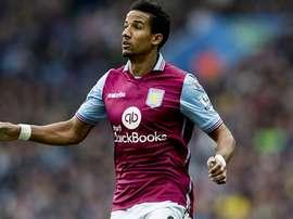 Sinclair in action for Aston Villa. AVFC