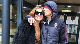 Mihajlovic segue em tratamento. /Instagram/AriannaMihajlovic