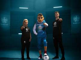 The Euro 2020 mascot has been revealed. EFE