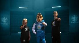 Revelan la mascota de la Eurocopa 2020: Skillzy. EFE