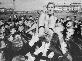 Skoglund fue todo un mito de Suecia y del Inter.
