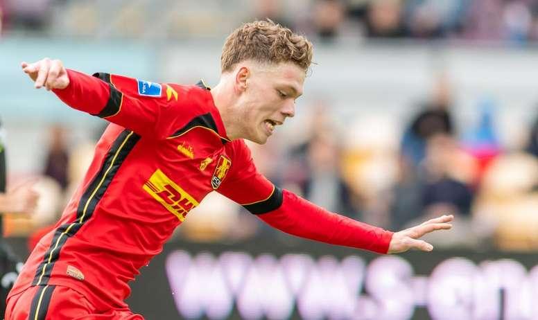 Skov Olsen: 19 años, 25 goles este año... y seguido por el Barça. FCNordsjaelland