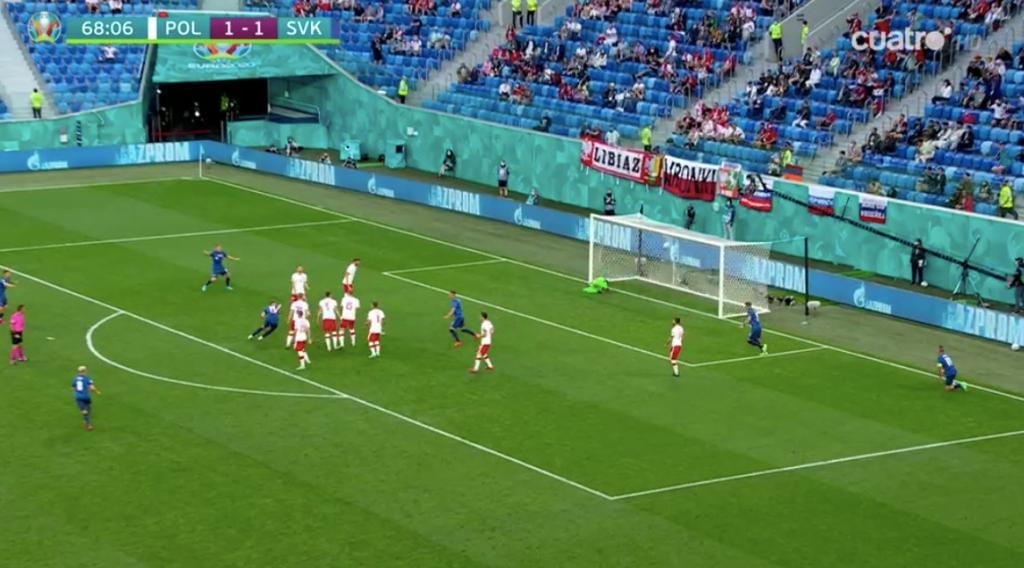 Gol de Skriniar a Polonia