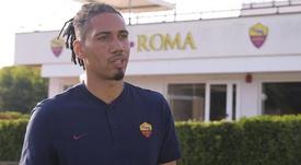 Roma, Smalling duda ante el Sassuolo por problemas musculares. ASRoma