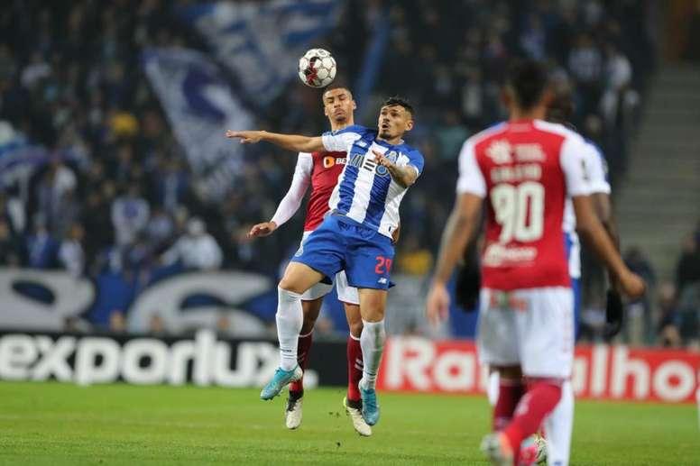 El Sporting de Braga asalta Do Dragao. Twitter/FCPorto