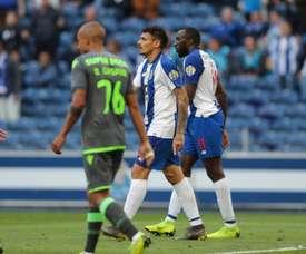 O FC Porto venceu o Sporting mas não conquistou o título de campeão. Twitter@FCPorto