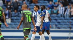 O Sporting pondera apresentar uma queixa contra o FC Porto. Twitter@FCPorto