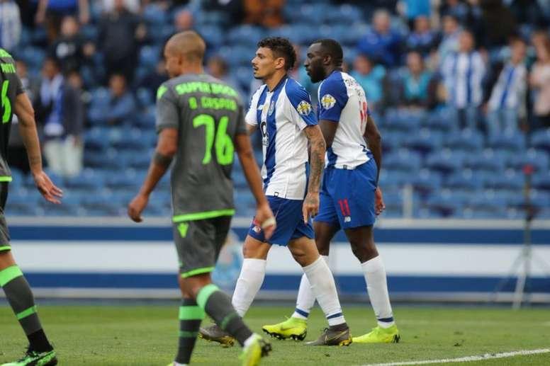 Prováveis escalações de Sporting e Porto. Twitter@FCPorto