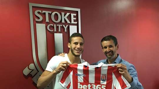 Sobhi is officially presented as a Stoke player. StokeCityFC