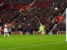 Sofiane Boufal scores on his full debut for Southampton. SouthamptonFC