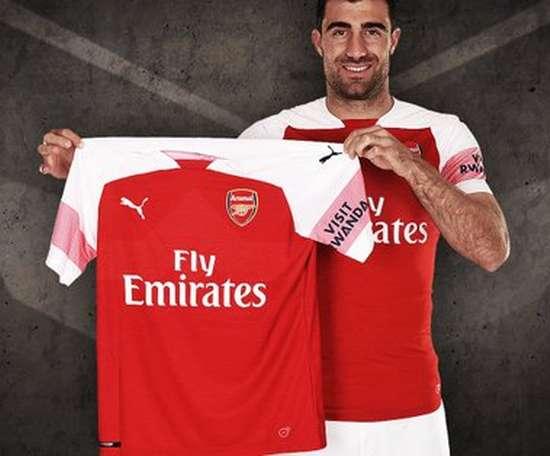 Sokratis novo jogador do Arsenal. Arsenal