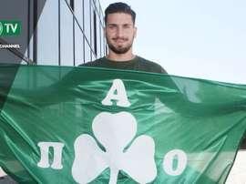 Nuevo meta para la portería de los 'verdes'. PanathinaikosFC