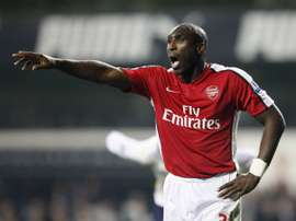 Sol Campbell is in talks to become Macclesfield manager. AFP