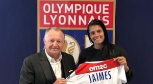 Sole Jaimes est un exemple à suivre. Twitter/OlympiqueLyonnais