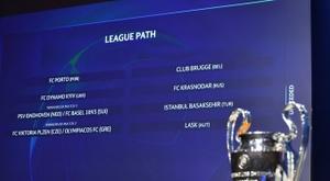 Sorteio da 3ª pré-eliminatória da Champions League. Twitter @ChampionsLeague