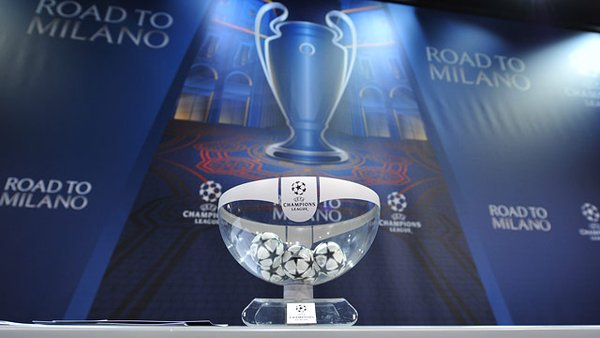 O sorteio da Champions. FIFA