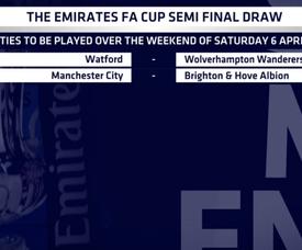 Tirage au sort des demies de la FA Cup. EmiratesFACup