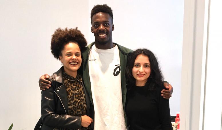 Iñaki Williams se reunió con SOS Racismo Madrid. Sosracismomad