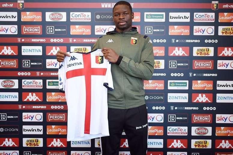 Soumaoro prêté par Lille au Genoa. GOAL