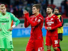 El Rubin empató al Spartak por 1-1. Twitter/fcsm_official