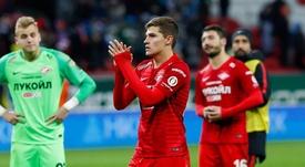 El Spartak encadenó tres victorias consecutivas. Twitter/fcsm_official