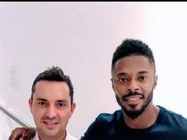 El histórico jugador brasileño llega cedido hasta diciembre. SportRecife
