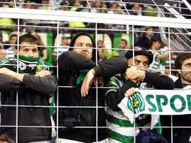 Sporting continua na terceira posição. EFE/Arquivo