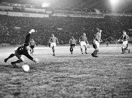 O Sporting CP conquistou a Taça das Taças em 1964. Twitter