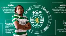 Sporting CP renova com Bruno Tavares até 2025. Twitter @Sporting_CP