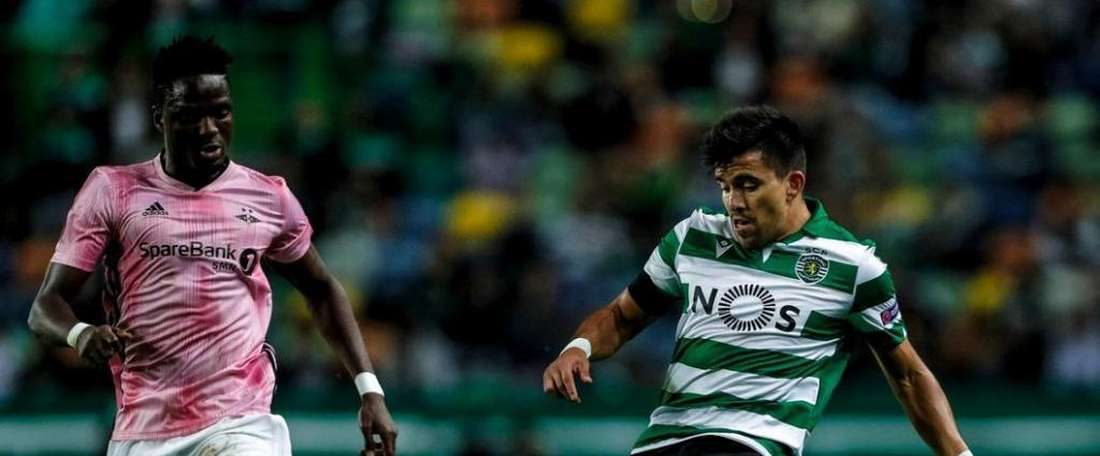 Sporting vence o Rosenborg pela 3º rodada da Liga Europa 2019-20. Twitter @Sporting_CP