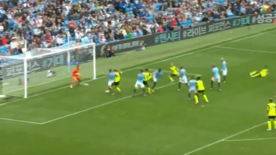 Stankovic slotted home under Ederson at the end of the first half. NBC